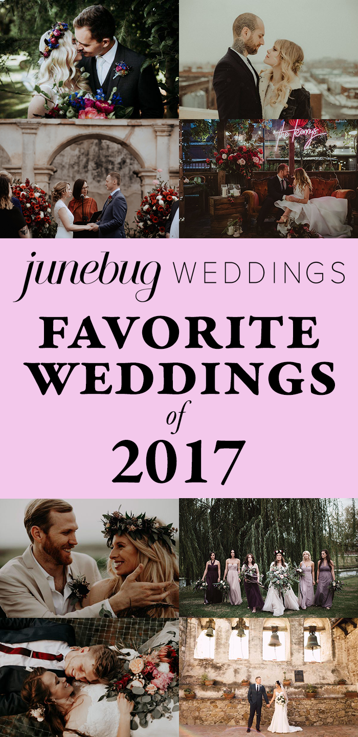 Our Favorite Weddings of 2017 on Junebug Weddings | Part Two ...