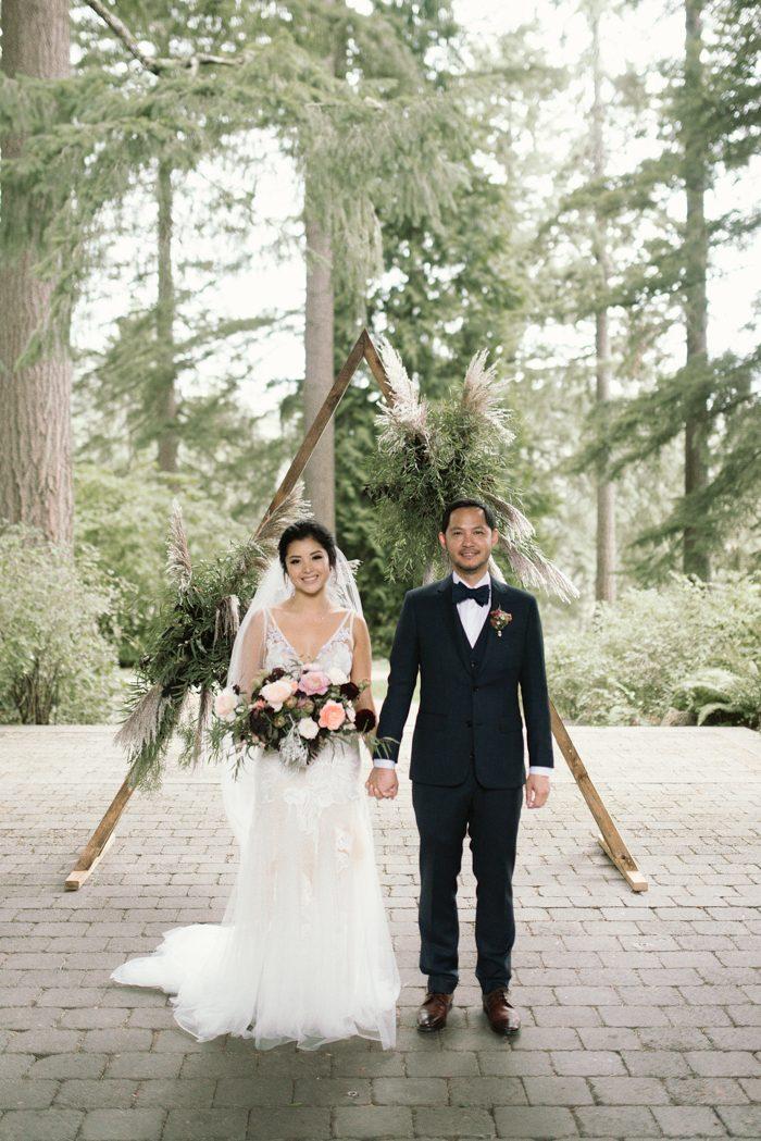 Organically Elegant Hoyt Arboretum Wedding in Portland, OR | Junebug ...