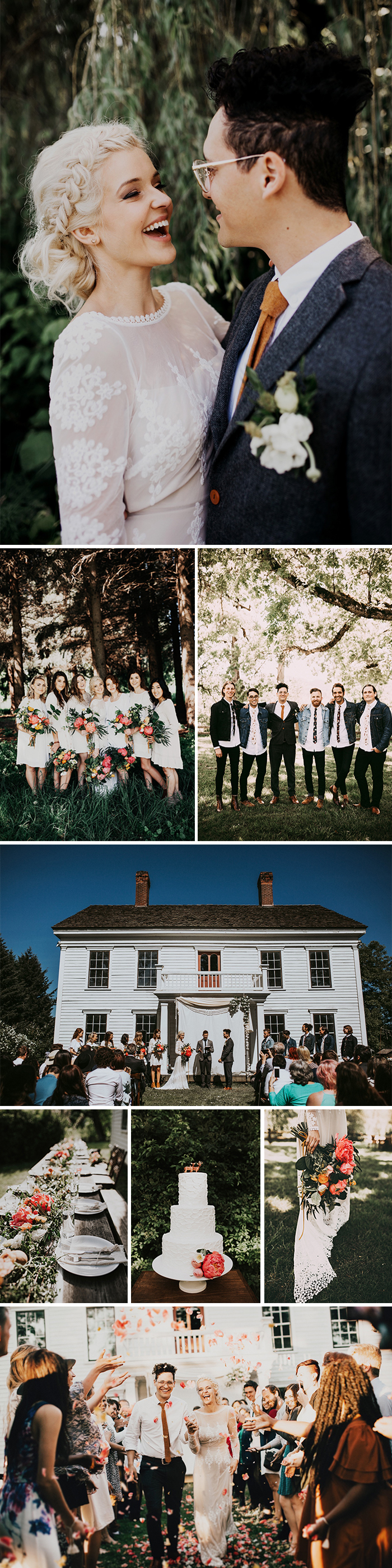 Photos By India Earl Event Planning John Dunfee Venue Sauvie Island Floral Design Magnanimous Co Catering The Lambs Table
