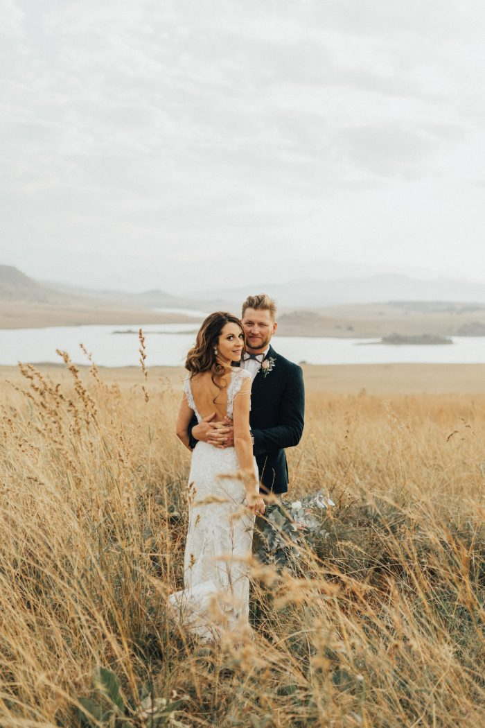 Claire And Marc S South African Wedding Was Held On The Groom Family Farm That Has Been In For Generations Perfect Setting A Large
