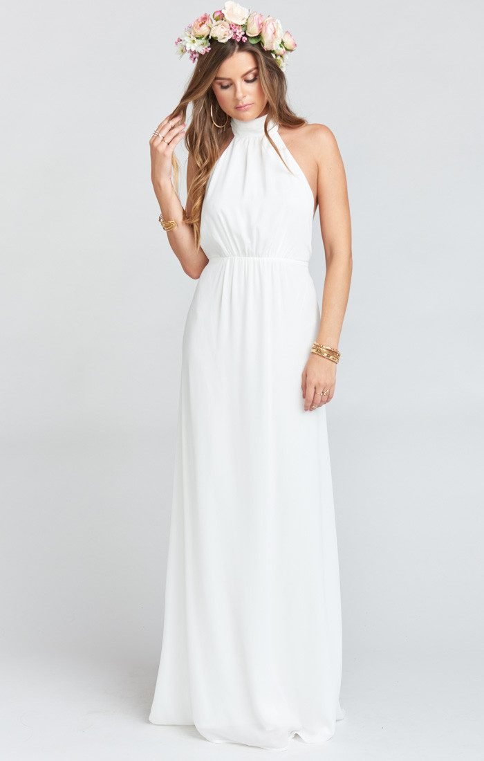 25f89c9328e These Neutral Bridesmaids Dresses are Subtle Showstoppers