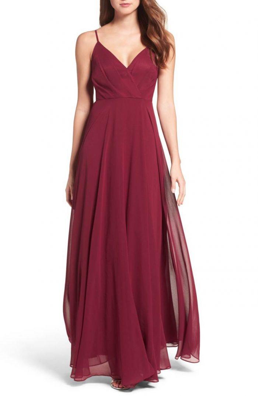 50 Beautiful Burgundy Bridesmaids Dresses Your Girls Will Love Junebug Weddings