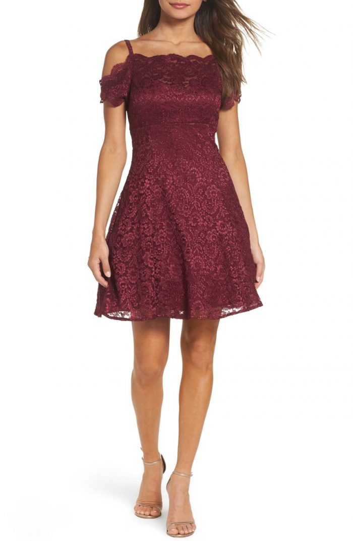 50 Beautiful Burgundy Bridesmaids Dresses Your Girls Will