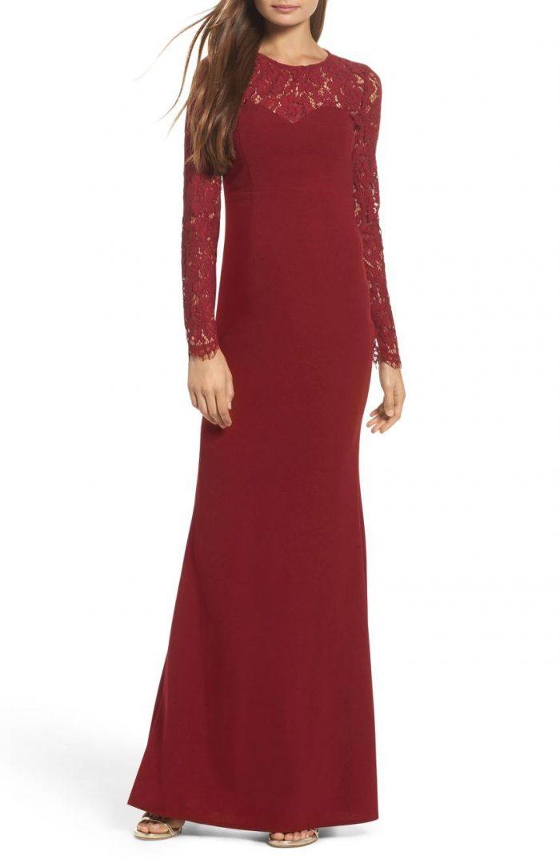 50 Beautiful Burgundy Bridesmaids Dresses Your Girls Will