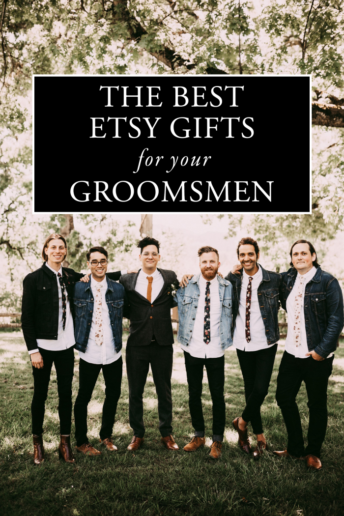 The Best Etsy Groomsmen Gifts Junebug Weddings