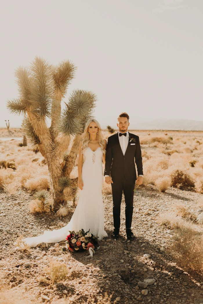 Can't Get Enough Of This Boho Glam Las Vegas Wedding At