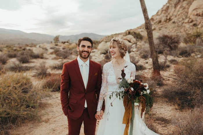 Because Our Wedding Was In Joshua Tree And All Of Guests Made The Trip Out There For Weekend We Wanted To Give Something Thoughtful That Would