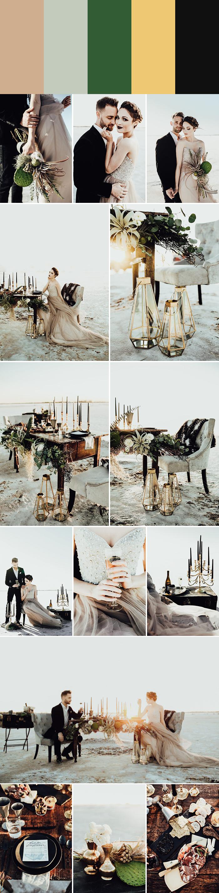 5 Palette Ideas for Winter Wedding Colors | Junebug Weddings