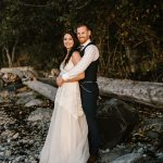 This Couple Exchanged Vows in an Intimate Forest Wedding at Pacific Spirit Regional Park