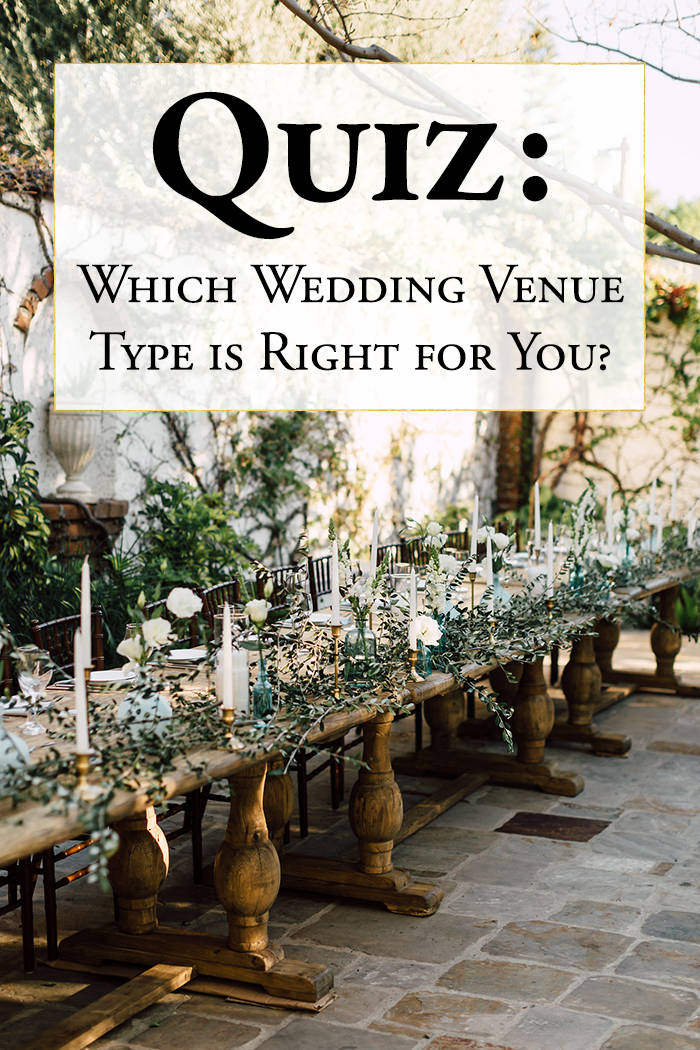 Quiz Find Out What Wedding Venue Type Is Right For You Junebug