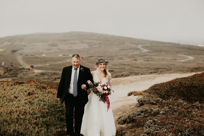 Land Locked Places Germany And Minnesota But Both Of Us Dreamed An Ocean Wedding Not A Beach Cliff Bodega Bay Was Perfect