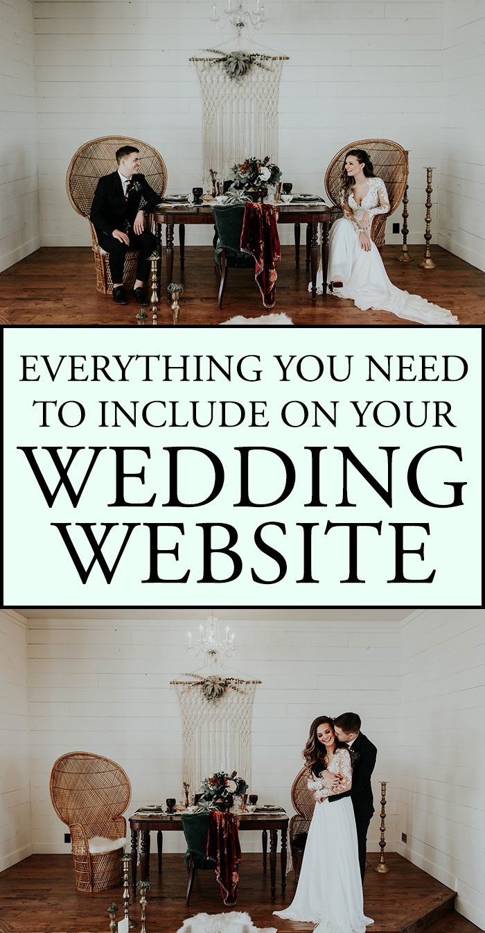 This Checklist Has Everything You Need To Include On Your Wedding Website With Joy
