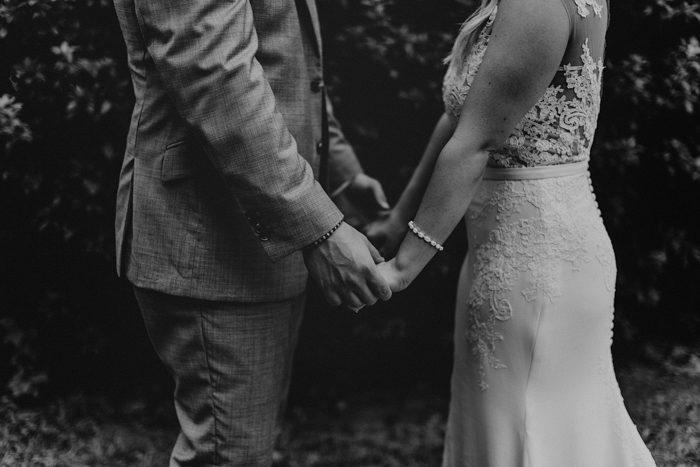 Gray and Gold Covington, Louisiana Wedding at The Barnhouse ...