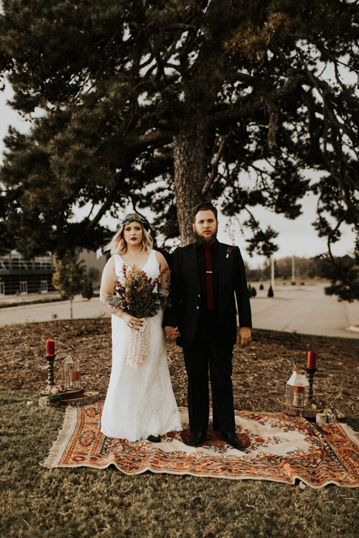 This Handmade Georgia Wedding Ends with an Intimate ...