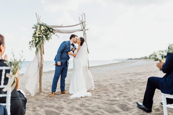 Secluded Beach Wedding at Villa Seven in Rhodes, Greece ...