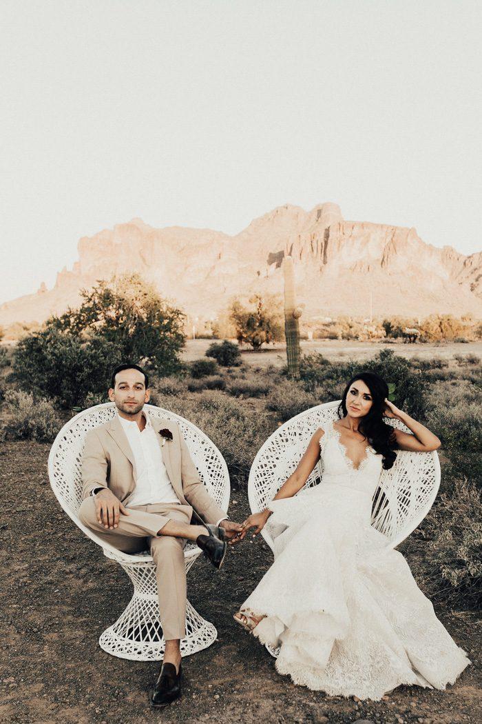 Spanish-Inspired Arizona Wedding at The Paseo | Junebug Weddings