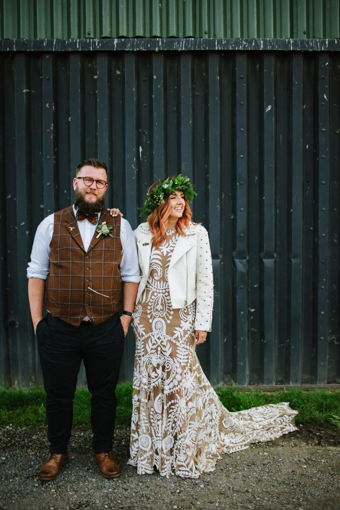 This Elmley Nature Reserve Wedding Takes Earthy Boho To The Next