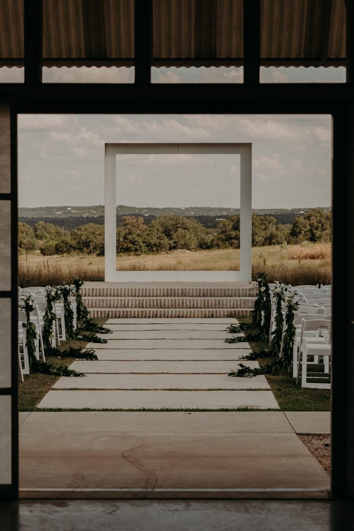 This prospect house wedding is your guide to geometric for Beach house design jeffrey strnad