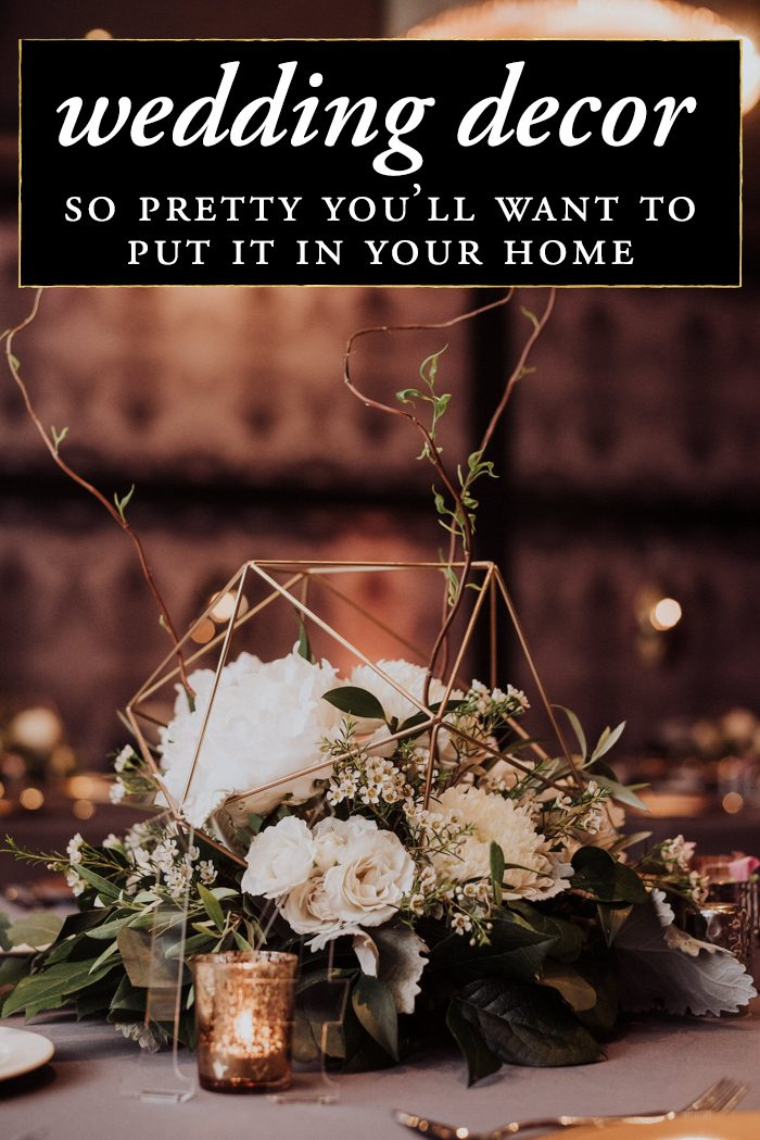 Wedding decor so pretty youll want to put it in your home junebug photo by rob august junglespirit Images