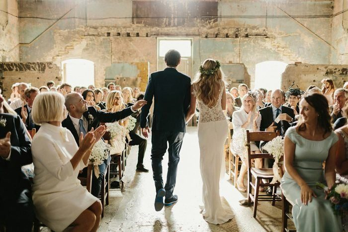 70 ceremony recessional songs for 2018 weddings junebug weddings photo by emilie white junglespirit Images