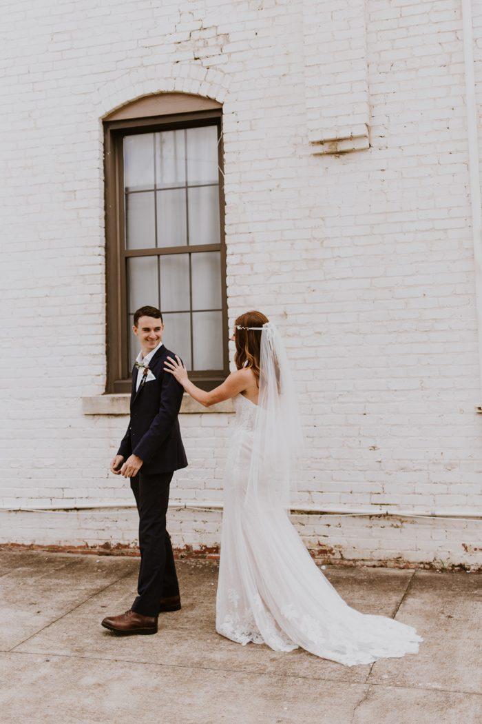 Blush and Rose Birmingham Wedding at Avondale Villa | Junebug Weddings