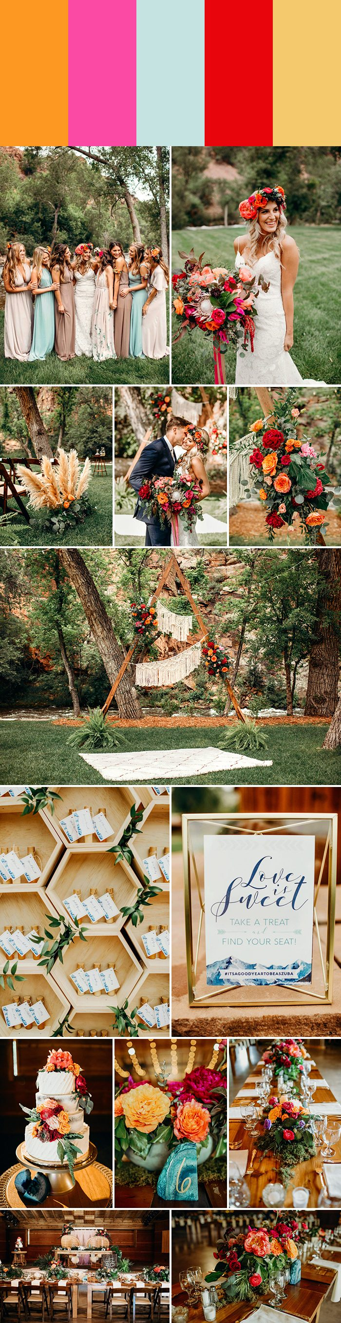 5 Inspiring Spring Wedding Color Palette Ideas | Junebug