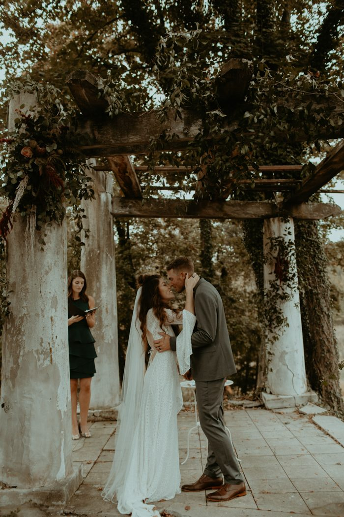 This Colorful Bohemian Historic Shady Lane Wedding is Full