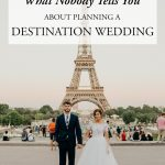 What No One Tells You About Planning a Destination Wedding