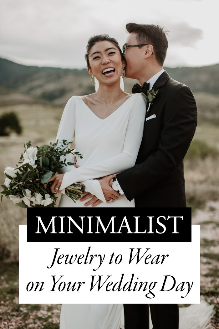 Minimalist Jewelry to Wear on Your Wedding Day | Junebug Weddings