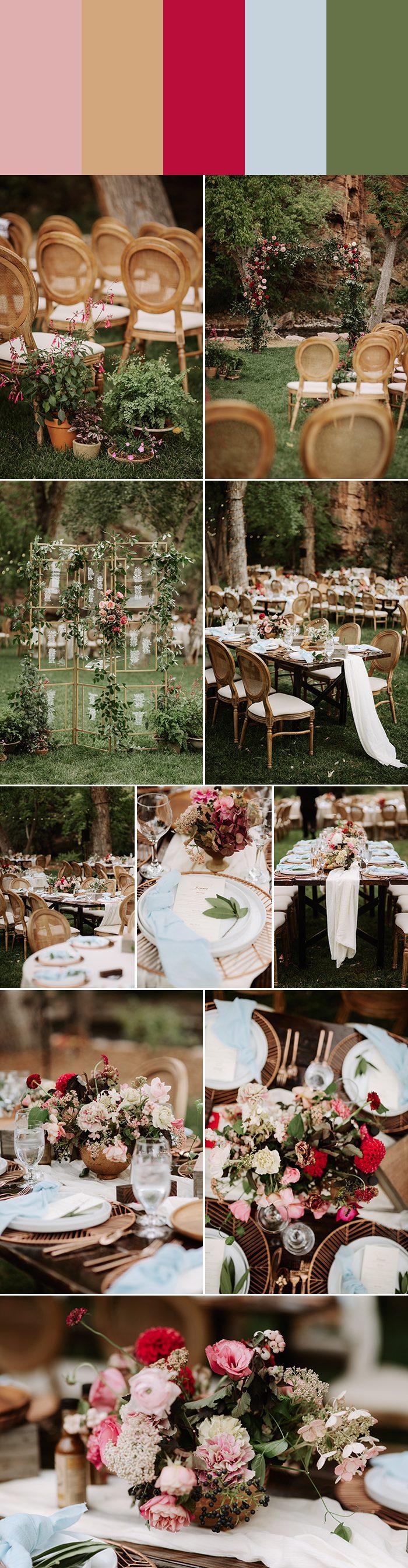 Spring Wedding Colors.5 Inspiring Spring Wedding Color Palette Ideas Junebug Weddings