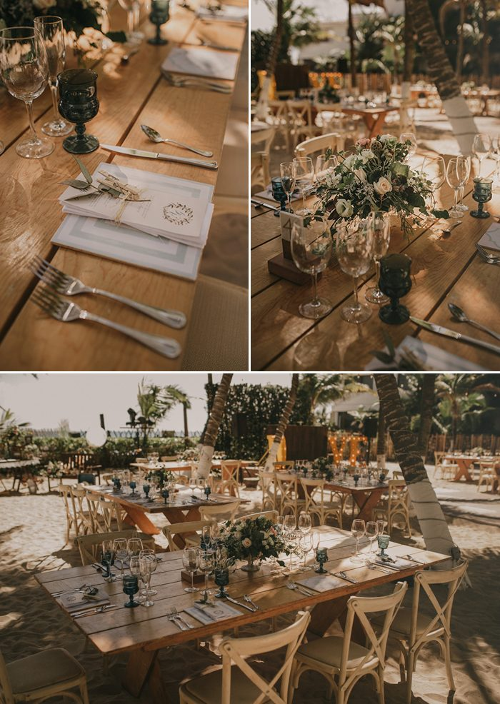 This Tulum Beach Wedding Was Styled To The Nines By The Wedding