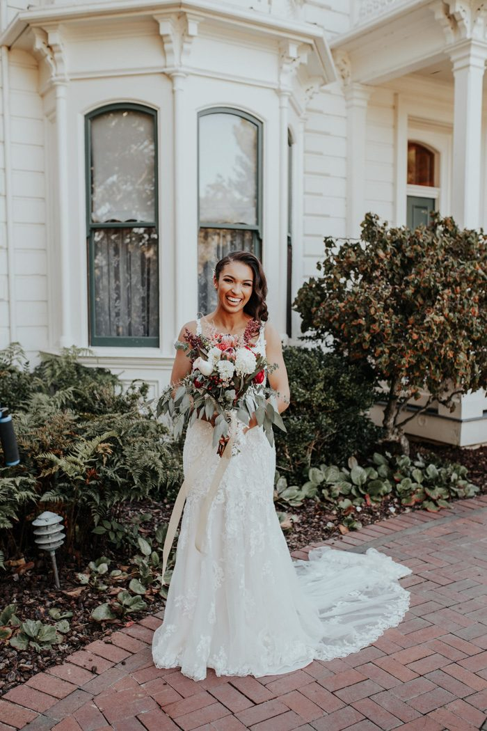 The Rengstorff House Set the Scene for This Modern Victorian Wedding ...
