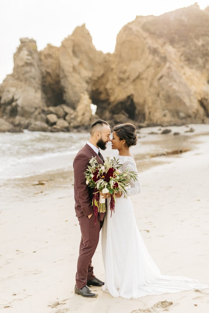 These cuties ditched their big wedding plans for a secluded big sur after being together for over a decade karla and anthony didnt want their wedding day to be anything less than unforgettable junglespirit Image collections