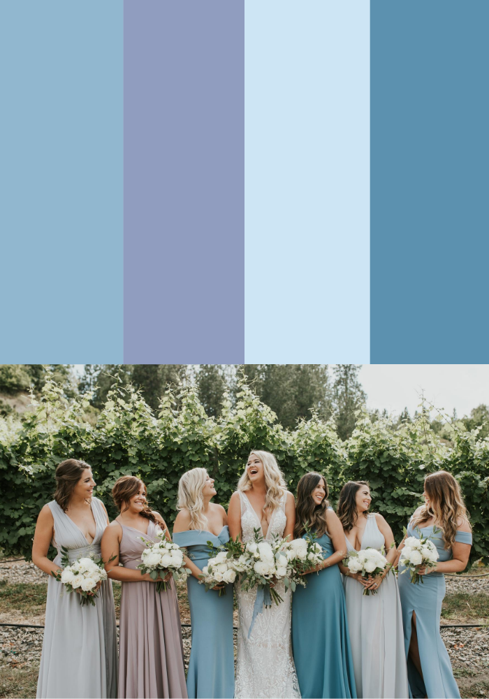 13 Mismatched Bridesmaid Dress Color