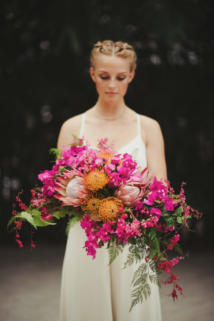19  Tropical Wedding Bouquets
