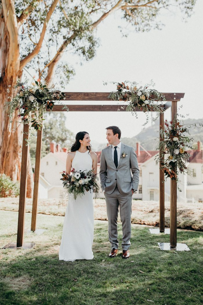 Classic California Wedding at Cavallo Point | Junebug Weddings