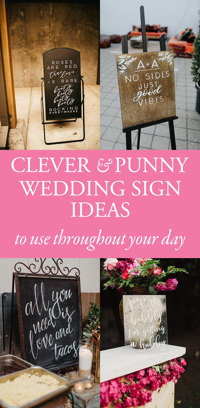 Watch Creative Sign Ideas For Your Wedding Reception Bar – Part III video