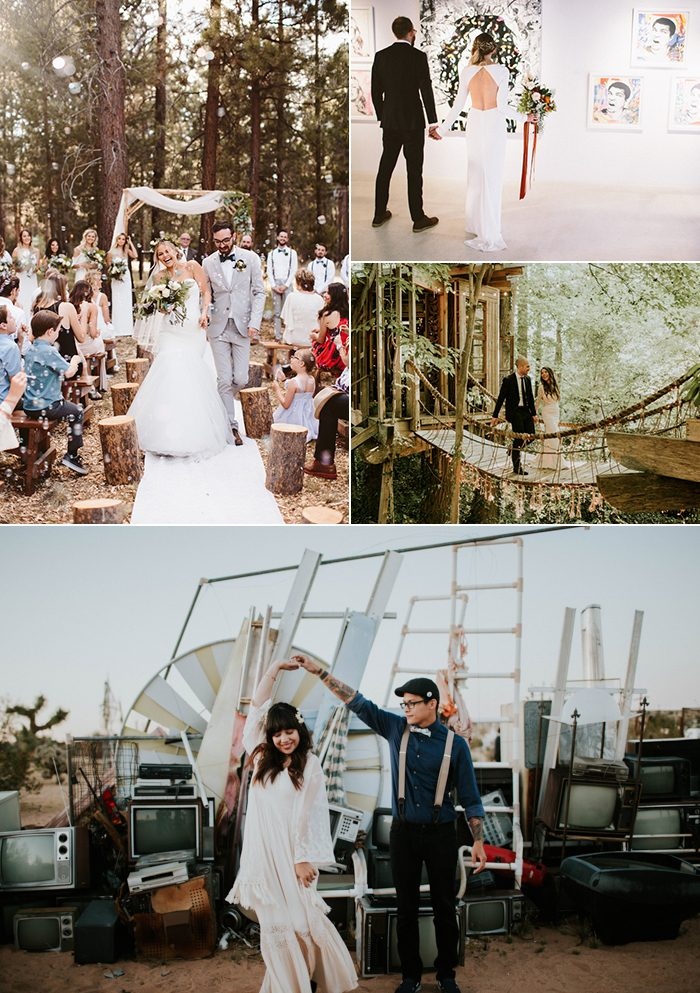 Cool Casual Wedding Ideas For Low Key Couples Junebug Weddings