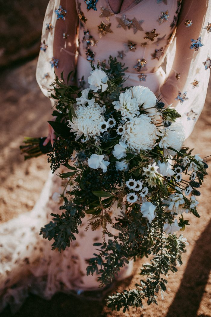 This Constellation Wedding Inspiration Shoot Will Have You