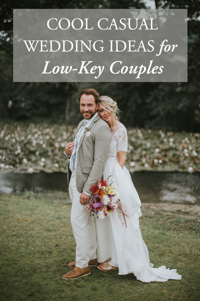 Cool Casual Wedding Ideas for Low-Key Couples | Junebug ...