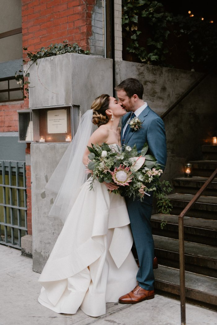 Modern Chic NYC Wedding at PUBLIC Restaurant | Junebug Weddings