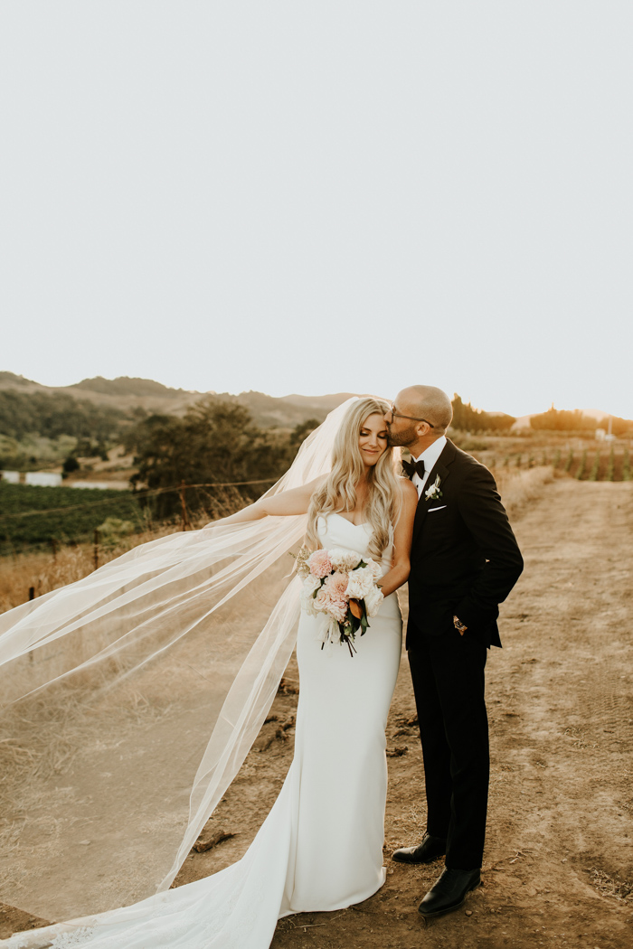 This Luxe Sunstone Winery Wedding Surprised Guests With A