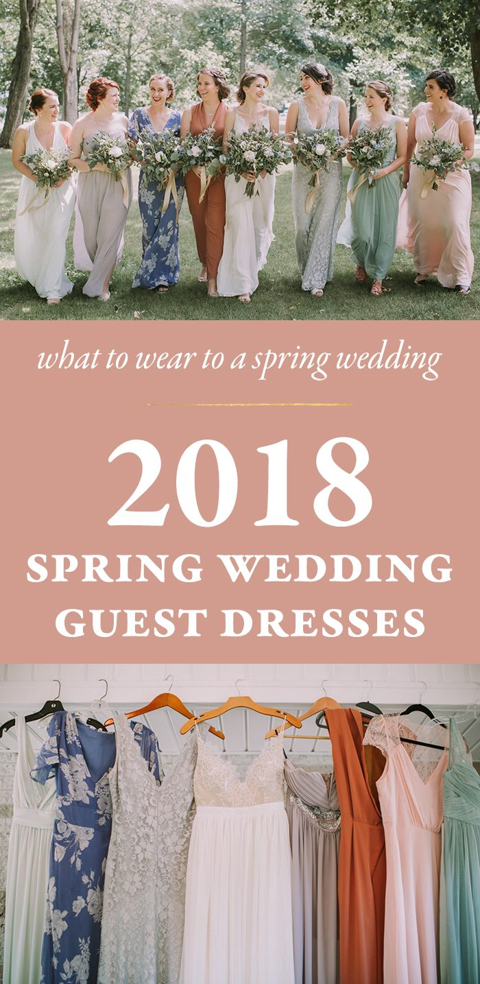What to Wear to a Spring Wedding - 2018 Spring Wedding Guest Dresses ...