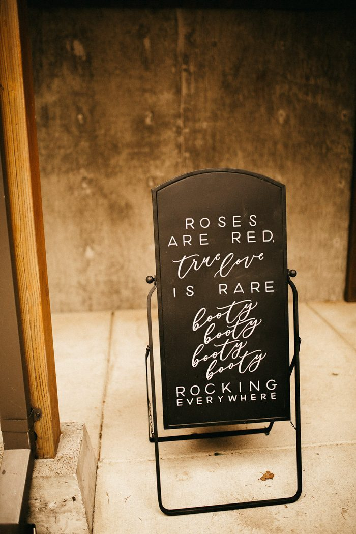 Clever Amp Punny Wedding Sign Ideas For Every Part Of Your