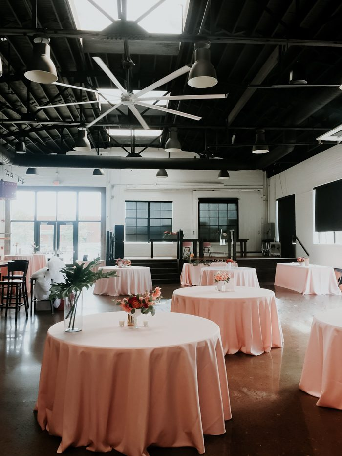 Artsy Meets Mid Century Downtown Paducah Wedding At The
