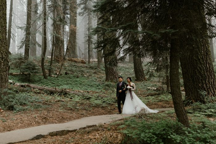 Instead We Used Crescent Meadows As Our Backdrop Did Not Have Any Flowers Except My Bouquet And Sisters Bouquets Really Wanted Nature To