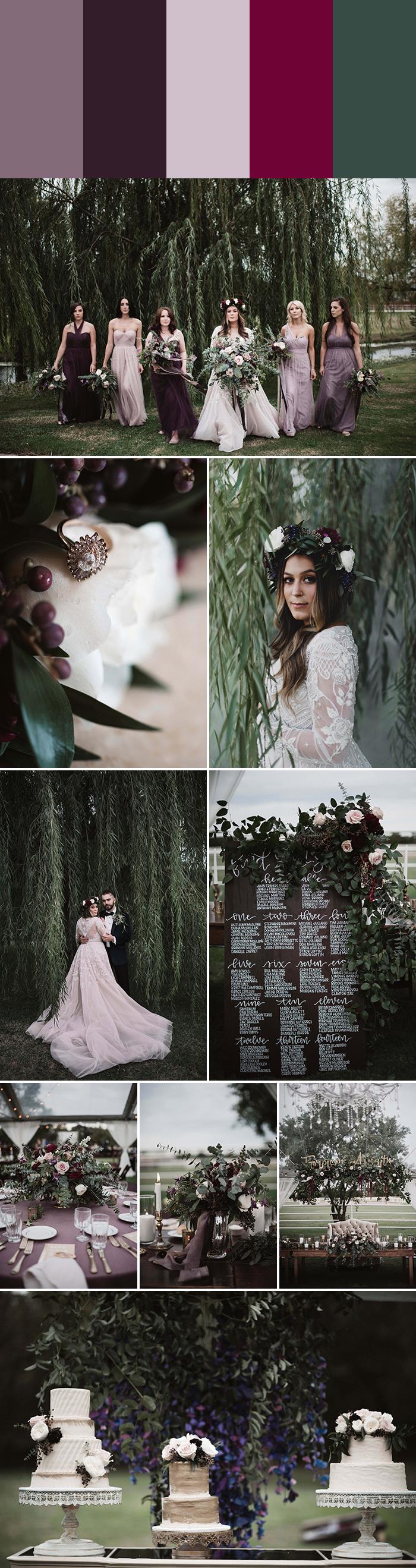 10 Elegant Wedding Color Palettes | Junebug Weddings