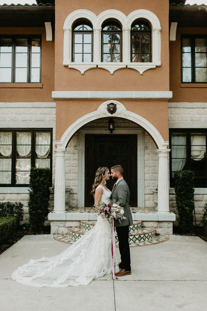Romantic Jacksonville Wedding At The Tuscan River Estate