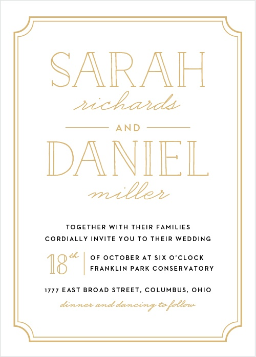The Best Places To Buy Your Wedding Invitations Online