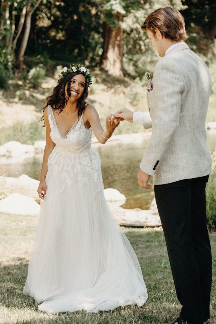 This Red Barn Farm Wedding is Full of Fresh Spring Goodness